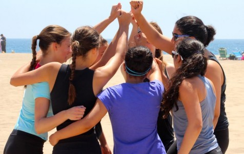 New girls beach volleyball team prospers under the sun