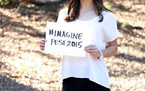 Senior Katie Romanovich organizes Imagine Fest, a music and arts festival located in your backyard