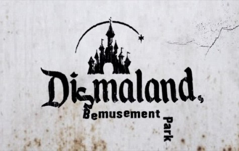 "Banksy's ""Dismaland"" mocks the classic Disney theme park"