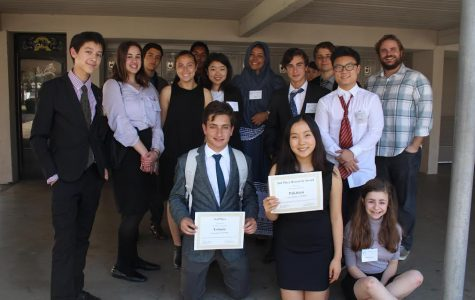 CHS's Model UN team brings home first team award at Stanford conference