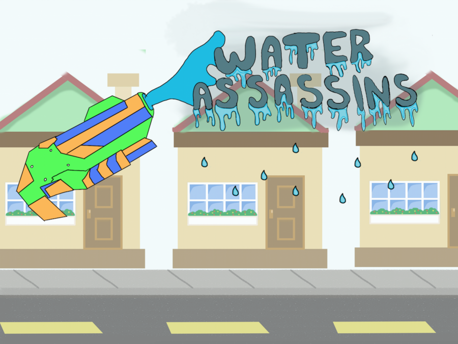 "300-plus CHS seniors take part in bigger than ever ""Water Assassins"""