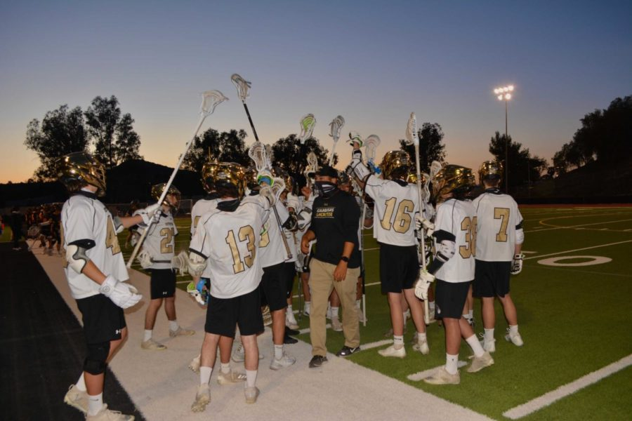 Boys Varsity Lacrosse works to make a comeback during a tough season
