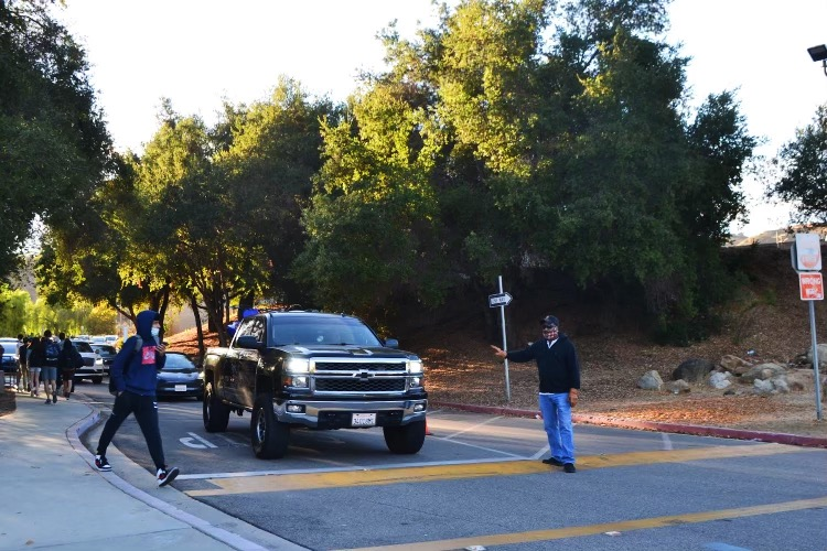 Traffic near campus causes a rise in safety concerns